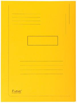Exacompta dossiermap Forever 2kleppen geel