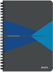 Leitz Office notitieboek, ft A5, gelijnd, blauw