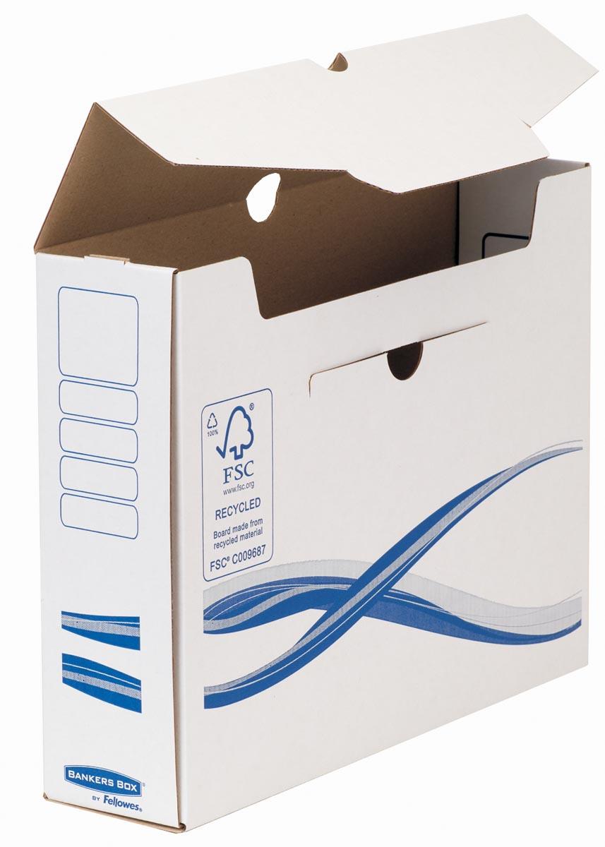 Bankers Box Basic, transfer archiefdoos, ft A4+, rug van 8 cm