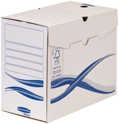 Bankers Box Basic, transfer archiefdoos, ft A4+, rug van 15 cm