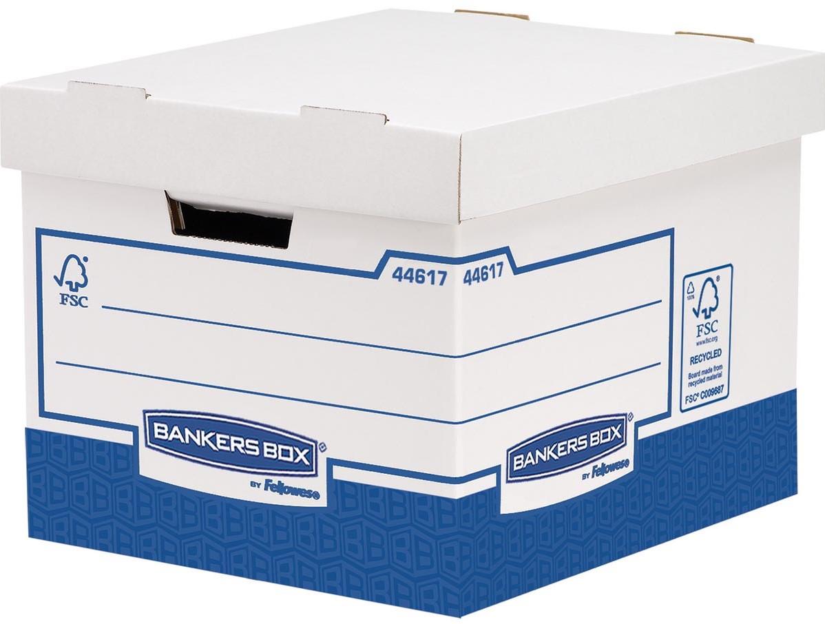 Bankers Box Basic Boite Archivage Heavy Duty Standard Ft 33 3 X 28 5 X 38 Cm Boite De 10 Pieces Bij Vindiq Office