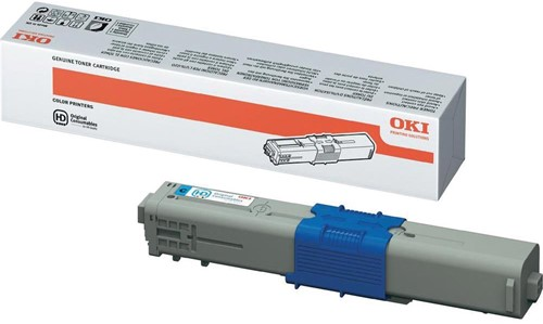 Oki Toner Kit cyaan - 2000 pagina's - 44469706