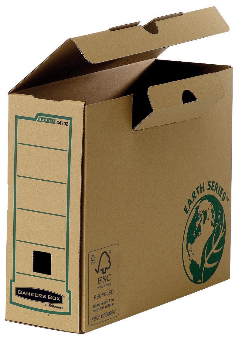 Bankers Box Earth Series, A4, transfer archiefdoos, rug van 10 cm
