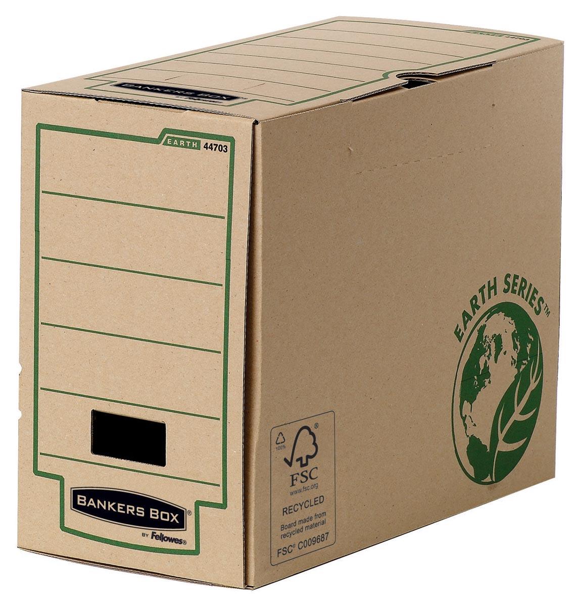 Bankers Box Earth Series, A4, transfer archiefdoos, rug van 15 cm