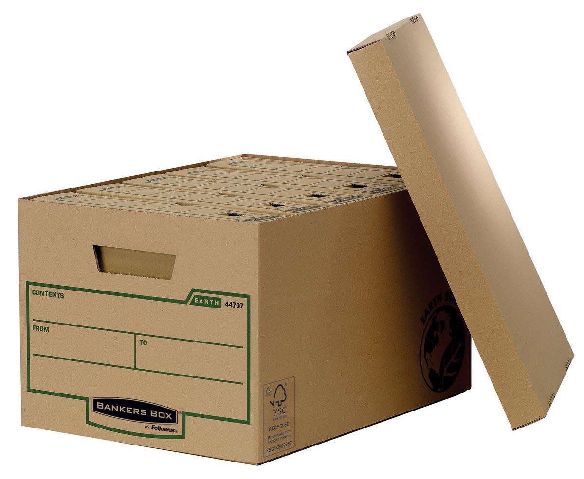 Bankers box earth series opbergdoos, large, rug van 32,5 cm