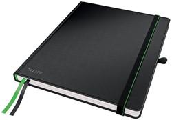 Leitz Complete notitieboek, ft A4, gelijnd, zwart