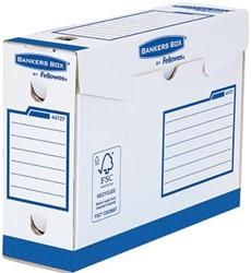 Bankers Box basic archiefdoos heavy duty, ft 9,5 x 24,5 x 33 cm, blauw