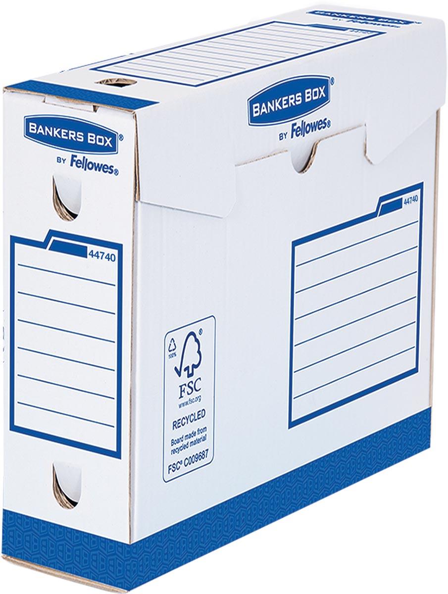 Bankers Box Basic archiefdoos Heavy Duty binnenft: 7,5 x 24,4 x 33 cm (b x h x d)
