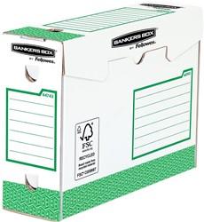 Bankers Box basic archiefdoos heavy duty, ft 9,5 x 24,5 x 33 cm, groen, pak van 20 stuks
