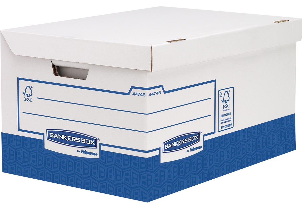 Bankers Box basic containerdoos ultra heavy duty, flip top maxi