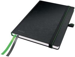 Leitz Complete notitieboek, ft A5, geruit, zwart