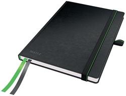 Leitz Complete notitieboek, ft A5, gelijnd, zwart