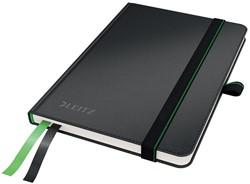 Leitz Complete notitieboek, ft A6, gelijnd, zwart