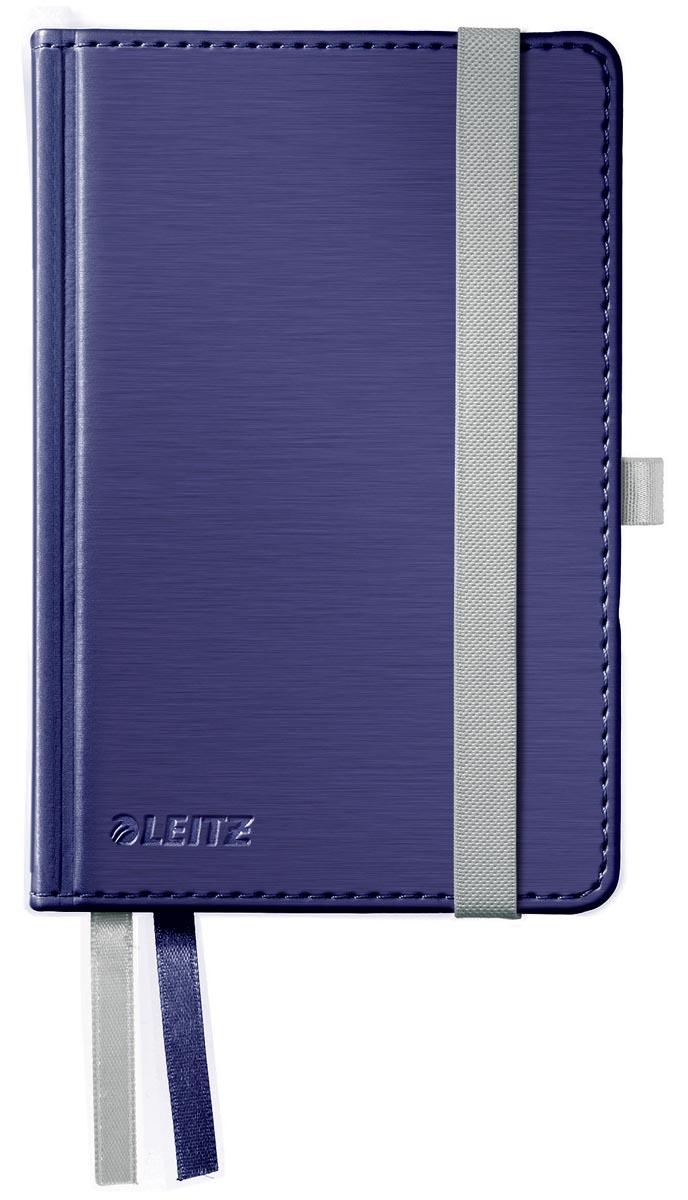 Afbeelding van Leitz Style notitieboek, ft A6, gelijnd, met harde kaft, titanium blauw