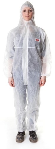 3M beschermende coverall, wit, extra large