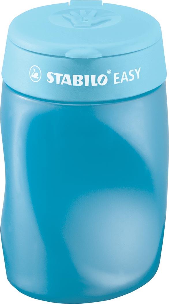 STABILO EASYsharpener potloodslijper, 2 gaten, voor linkshandigen, blauw
