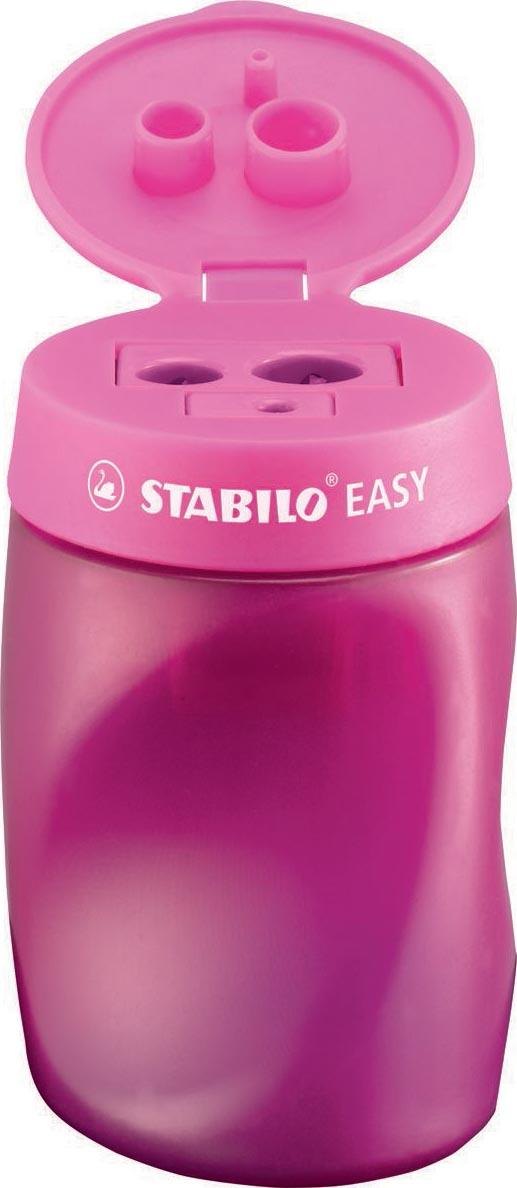 STABILO EASYsharpener potloodslijper, 2 gaten, voor rechtshandigen, roze