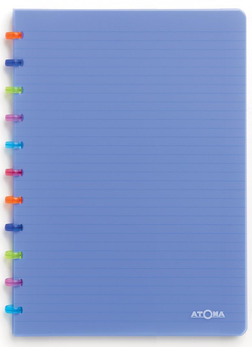Atoma schrift Tutti Frutti ft A4, commercieel geruit, transparant blauw