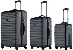 Juescha pilotenkoffer, set van 3 koffers