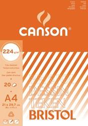 Canson tekenblok Bristol ft 21 x 29,7 cm (A4)
