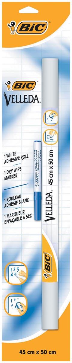 Bic zelfklevende rollen (whiteboard vellen) Velled ft 45 x 50 cm