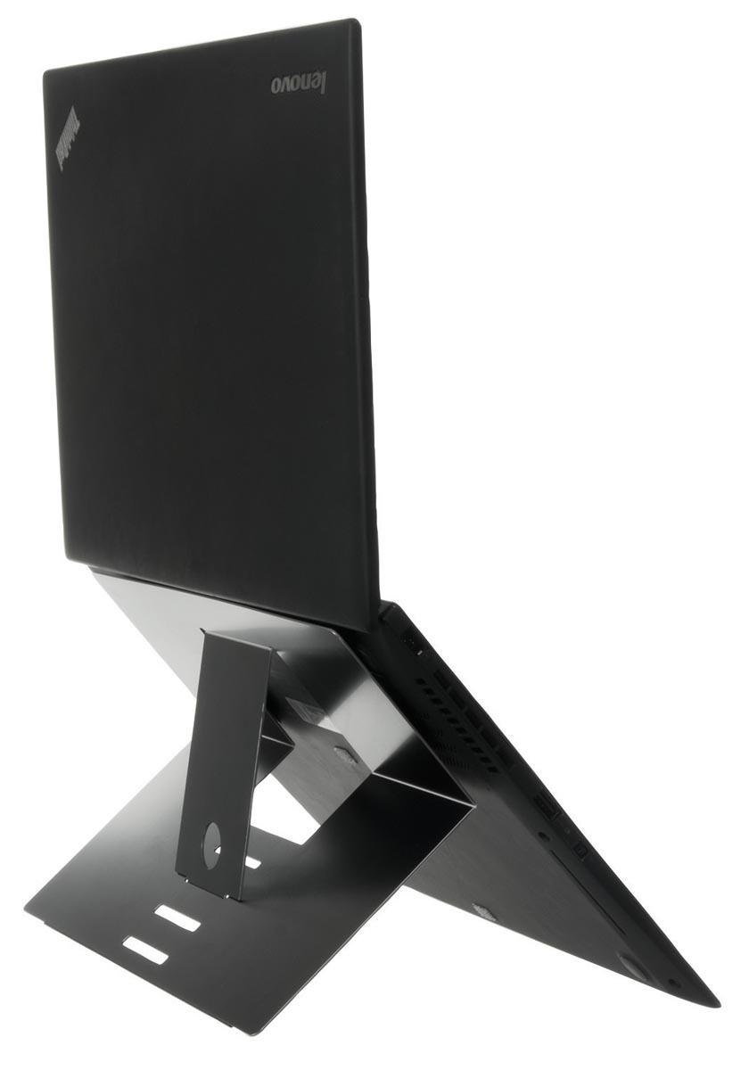 R-Go Riser Attachable laptopstandaad, zwart