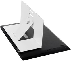 R-Go Riser laptopstandaard antislip, wit