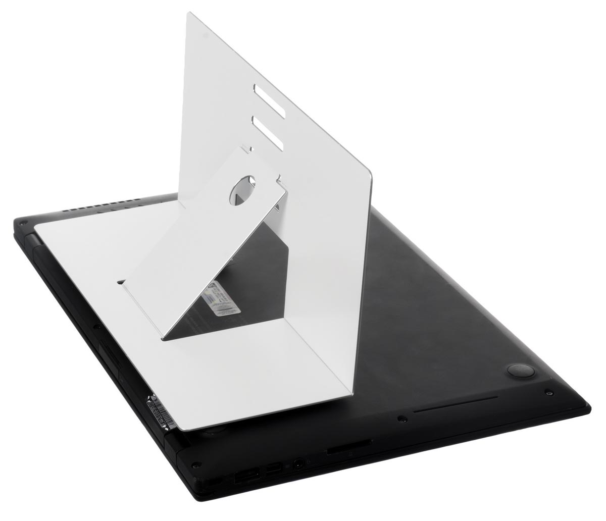 R-Go Riser Attachable laptopstandaad, wit