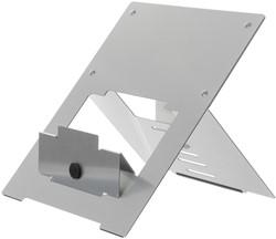 R-Go Riser laptopstandaard, zilver