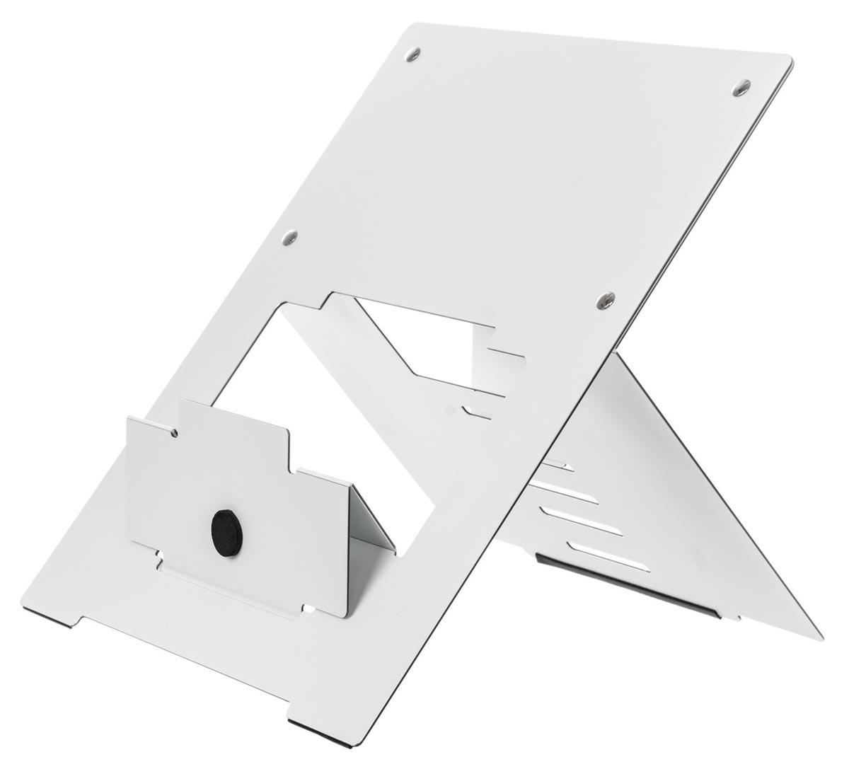 R-Go Riser Flexible laptopstandaard, wit