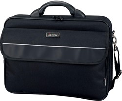 Juescha Laptoptas Elite L, buiten ft: 43 x 31 x 10 cm, binnen ft: 42 x 30 x 6,5 cm