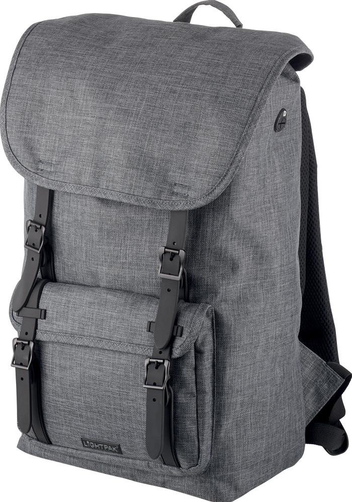81d7d28708 Lightpak by Jüscha sac à dos pour ordinateur portable RIDER, pour  ordinateurs portable de 15