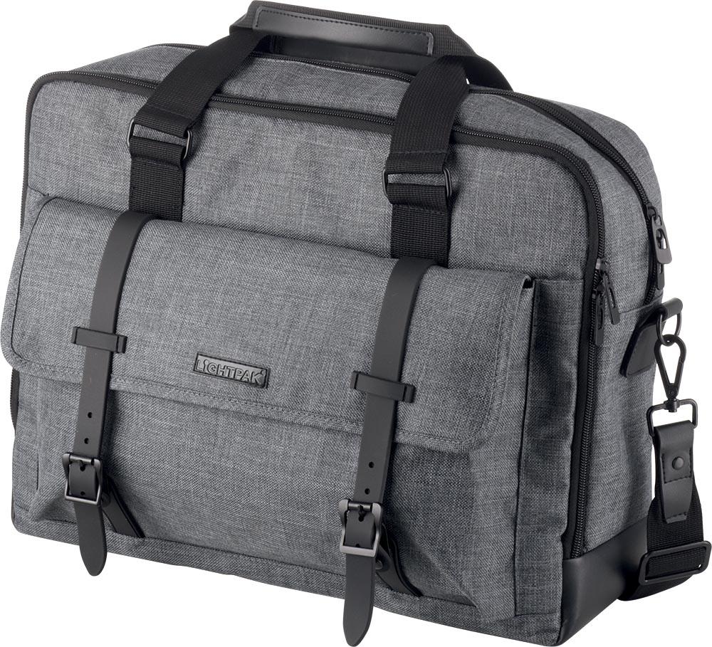 Lightpak by J�scha laptoptas TWYX, voor 15 inch laptops, grijs