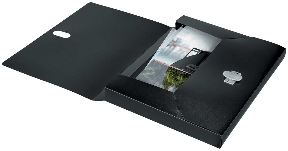 Leitz Recycle documentenmap, A4, zwart