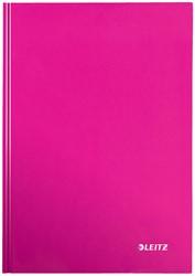 Leitz WOW notitieboek, ft A4, gelijnd, roze