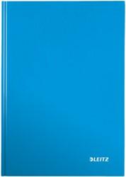 Leitz WOW notitieboek, ft A4, gelijnd, blauw