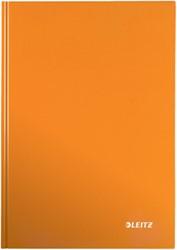 Leitz WOW notitieboek, ft A4, gelijnd, oranje