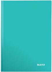 Leitz WOW notitieboek, ft A4, gelijnd, ijsblauw