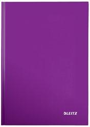 Leitz WOW notitieboek, ft A4, gelijnd, paars