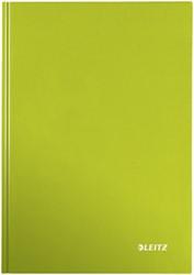 Leitz WOW notitieboek, ft A4, gelijnd, groen