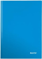 Leitz WOW notitieboek, ft A4, geruit 5 mm, blauw