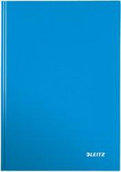 Leitz WOW notitieboek, ft A4, geruit 5 mm, blauw