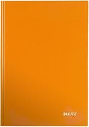 Leitz WOW notitieboek, ft A4, geruit 5 mm, oranje