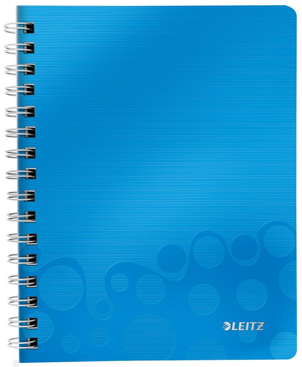 Leitz WOW schrift ft A5, gelijnd, blauw