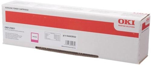 Oki Toner Kit magenta - 7300 pagina's - 44643002