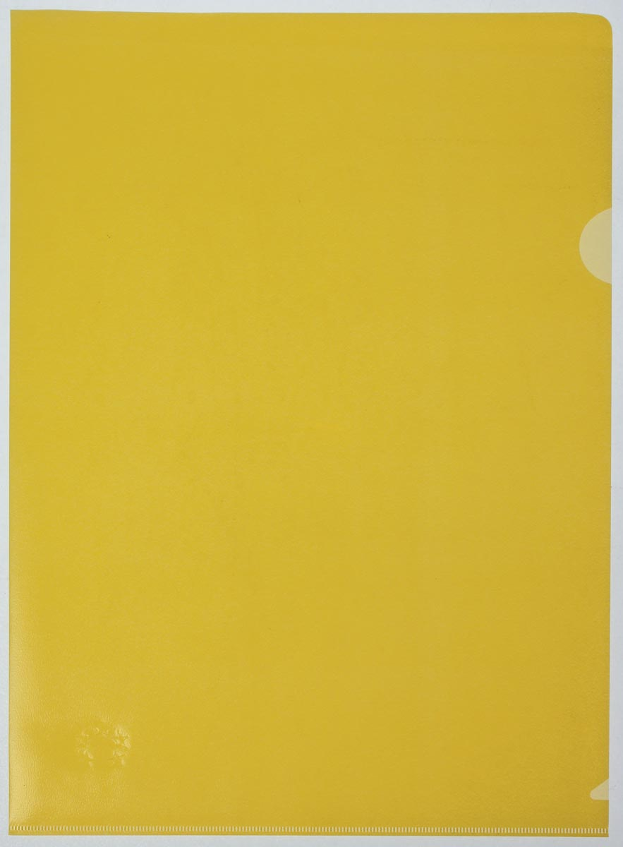5 Star L-map geel, pak van 25