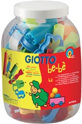 Giotto be-bè accessoires voor boetseerpasta, schoolpack met 42 stuks