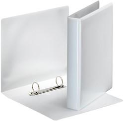Esselte personaliseerbare ringmap PP voor ft A5          rug van 4,7 cm, 2 D-ringen van 25 mm, wit