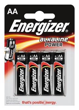 Energizer AA batterij (penlite) Alkali-mangaan 1.5 V 4 stuks