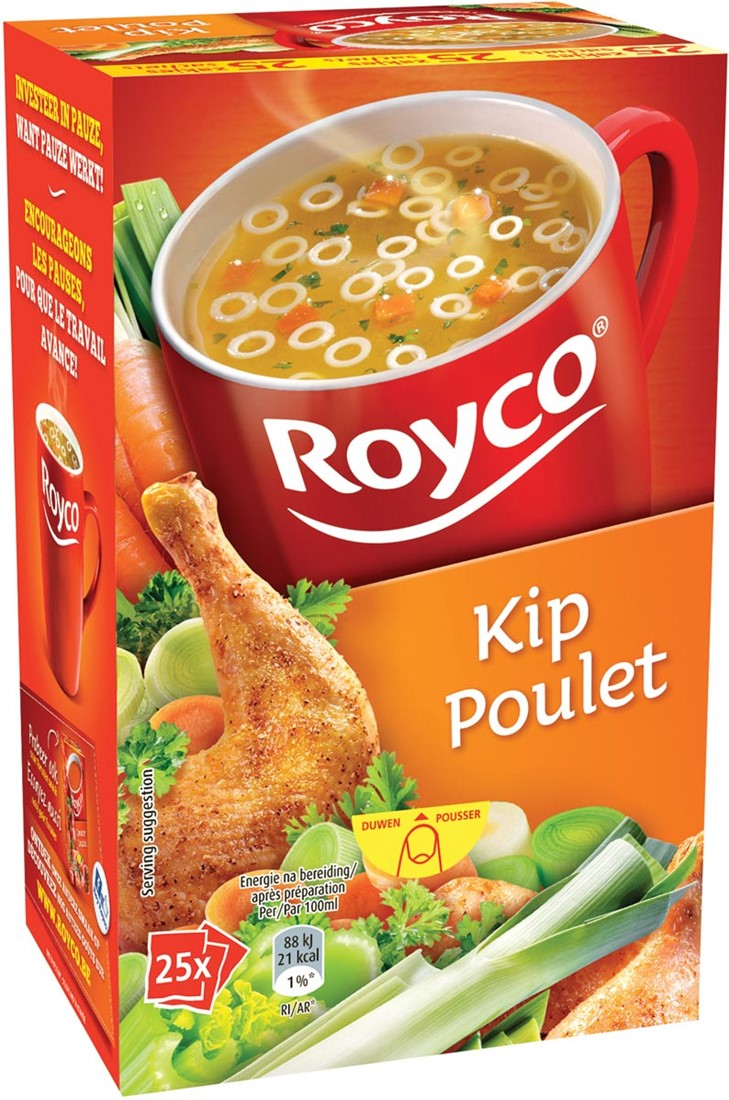 royco minute soup kip pak van 25 zakjes bij vindiq office